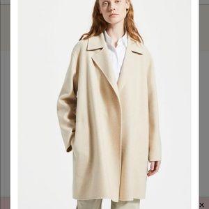 Theory Cashmere Blend Melange Coat